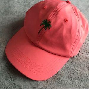 Forever 21 Palm Tree Dad Hat Beach Baseball Cap